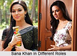 Sana Khan, Indian Actress