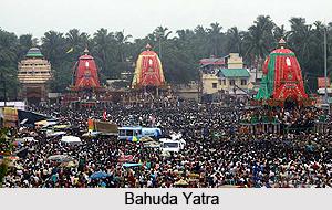 Bahuda Yatra, the Return Journey of Ratha Yatra