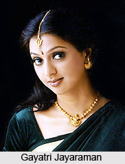 Gayatri Jayaraman, Indian Actress
