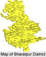 Geography of Bharatpur District