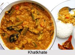 Khatkhate Curry, Goan Cuisine