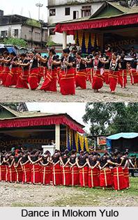 Mlokom Yulo, Indian Festival