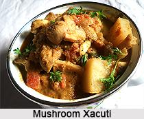 Mushroom Xacuti, Goan Cuisine