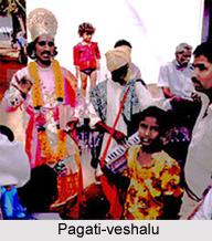 Pagati-veshalu, Indian Solo Folk Form