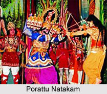 Porattu Natakam, Indian Folk Theatre