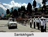Santokhgarh, Una District, Himachal Pradesh
