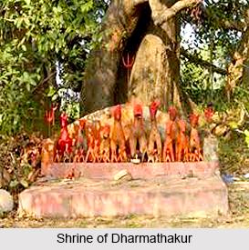 Dharmathakur, Hindu God