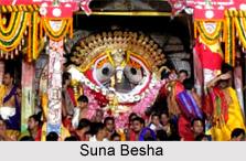 Suna Besha, Ritual in Ratha Yatra