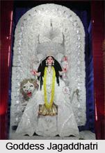 Goddess Jagaddhatri