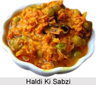 Haldi ki Sabzi, Rajasthani Cuisine