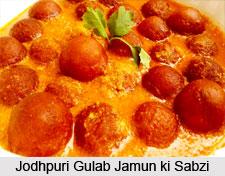 Jodhpuri Gulab Jamun Ki Sabzi, Rajasthani Cuisine