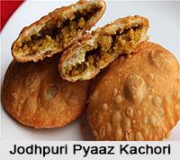 Jodhpuri Pyaaz Kachori, Rajasthani Cuisine