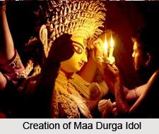 Bodhon, Rituals of Durga Puja