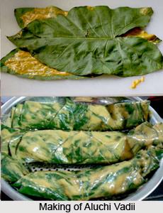 Aluchi Vadi, Indian Snacks