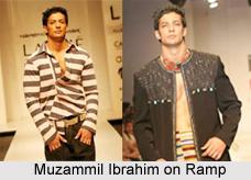 Muzammil Ibrahim, Indian Model