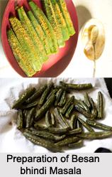 Besan Bhindi Masala, Rajasthani Cuisine