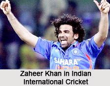 Zaheer Khan, Indian Cricket Player