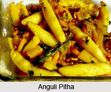 Aanguli Pitha, Assamese Cuisine