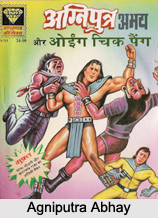 Agniputra Abhay, Characters in Indian Comics Series