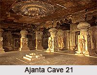 Ajanta Cave 21