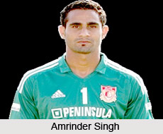 Amrinder Singh, Indian Football Player