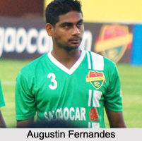 Augustin Fernandes, Indian Football Player