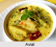 Avial, Cuisine of Kerala