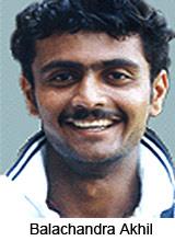 Balachandra Akhil, Karnataka Cricket Player