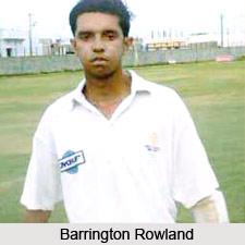 Barrington Marquis Rowland, Karnataka Cricket Player