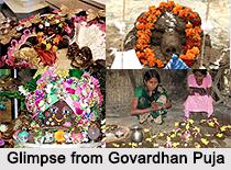 Cowdung Govardhan Puja