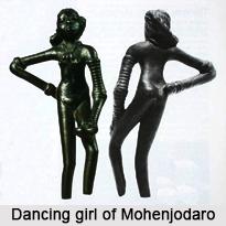 Dancing girl of Mohenjodaro