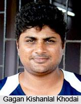 Gagan Kishanlal Khoda, Rajasthan Cricket Player