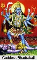 Goddess Bhadrakali