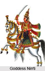 Goddess Nirrti, Hindu Goddess