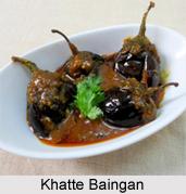 Khatte Baingan, Kashmiri Cuisine