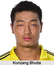 Kunzang Bhutia, Indian Football Player