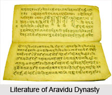 Literature of Aravidu Dynasty