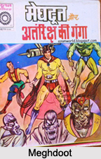 Meghdoot, Characters in Indian Comics Series
