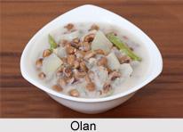 Olan, Cuisine of Kerala