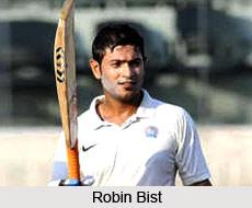 Robin Bist, Rajasthan Cricket Player
