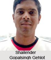 Shailender Gopalsingh Gehlot, Rajasthan Cricket Player