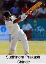Sudhindra Prakash Shinde, Karnataka Cricket Player