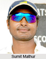 Sumit Om Prakash Mathur, Rajasthan Cricket Player