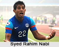 Syed Rahim Nabi, Indian Football Player