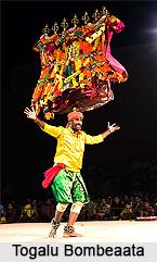 Togalu Bombeaata, Puppet Show, Karnataka