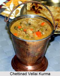 Chettinad Vellai Kurma, Chettinad Cuisine