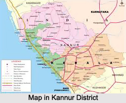Geography of Kannur District, Kerala