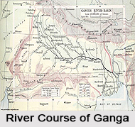 Course of River Ganges