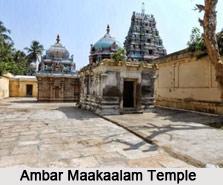 Ambar Maakaalam Temple, near Tiruvarur, Poonthottam, Tamil Nadu