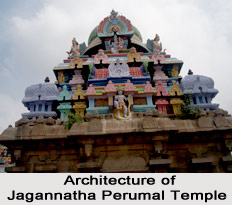 Architecture of Sri Jagannatha Perumal Temple, Tirumazhisai, Chennai, Tamil Nadu
